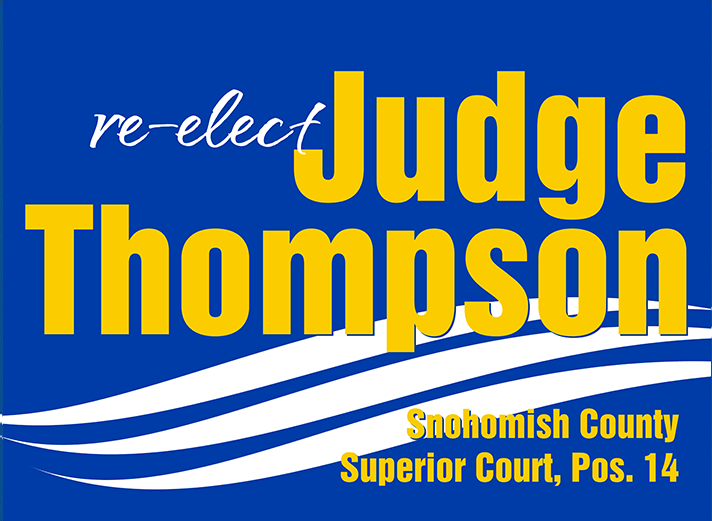 Re-elect Judge Paul Thompson